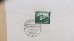 DR: Wiedereingliederung Der Gebiete Eupen, SoSt. Freiburg (Breisgau) Schaefers Märchenstadt Vom 10.11.40  Knr: 748/9 - Deutschland