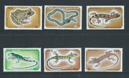 Fiji 1986 Reptiles & Amphibians Set 6 MNH - Fidji (1970-...)
