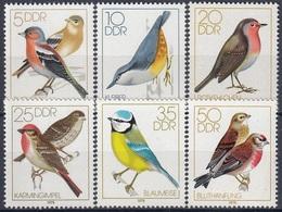 GERMANY DDR 2388-2393,unused,birds - Birds