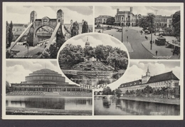 Breslau, Kaiserbrücke, Hauptbahnhof, Jahrhunderthalle, Universität - Schlesien