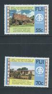 Fiji 1987 International Homeless Year Set 2 MNH - Fiji (1970-...)