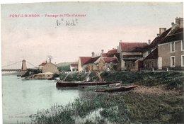 PORT A BINSON-Passage De L'Ile D'Amour - France