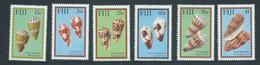 Fiji 1987 Cone Shells Set Of 6 MNH - Fidji (1970-...)