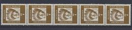 Berlin, Michel Nr. 200 R, 5er Streifen, Postfrisch/MNH - [5] Berlin