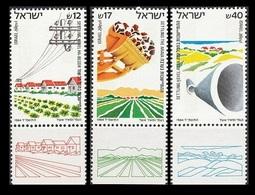 1984Israel955-957SETTLING HEVEL HA-BESOR, ARAVA & HEVEL AZZA1,90 € - Israel