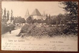 Solre Sur Sambre La Route De Château 1903 - Erquelinnes