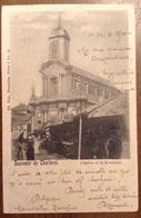 Souvenir De Charleroi L'Eglise Et La Kermesse 1900 - Charleroi