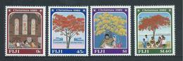 Fiji 1989 Christmas Set Of 4 MNH - Fiji (1970-...)