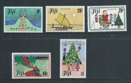 Fiji 1984 Christmas Set Of 5 MNH - Fidji (1970-...)