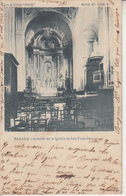 ZARAUZ - Interior De La Iglesia San Francisco - Guipúzcoa (San Sebastián)