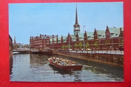 Kopenhagen - København - Börse - Dänemark - 1982 - Hafenrundfahrt Mit Boot - Danemark