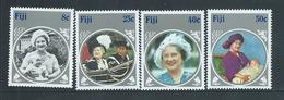 Fiji 1985 Queen Mother Set Of 4 MNH - Fiji (1970-...)