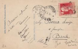 CARTOLINA 1927 20 C. VOLTA TIMBRO POTENZA PISA- PIAZZA DEL DUOMO (EX597 - 1900-44 Victor Emmanuel III