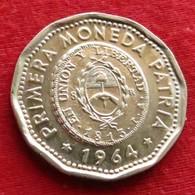 Argentina 25 Pesos 1964 KM# 61  Argentine - Argentine