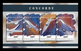 Togo 2018 Mih. 8847/50 Aviation. Supersonic Airliners Concorde MNH ** - Togo (1960-...)