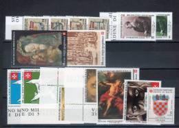Smom 1995  -- Annata Completa + 2 BF + PA  --- Complete Years  ** MNH / VF - Sovrano Militare Ordine Di Malta