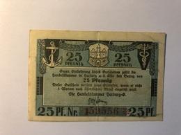 Allemagne Notgeld Harburg 25 Pfennig - [ 3] 1918-1933 : République De Weimar