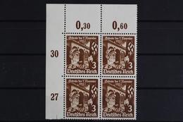 Deutsches Reich, MiNr. 598 X, VB, Ecke Li. Oben, Postfrisch / MNH - Germany