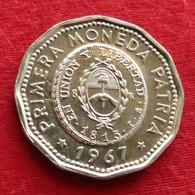 Argentina 25 Pesos 1967 KM# 61  Argentine - Argentine