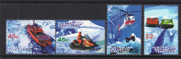 1998 - AUSTRALIAN ANTARTIC TERRITORY -  Yi.  115/118 - NH - (REG2875.. 27) - Unused Stamps