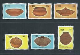 Fiji 1988 Pottery  Set Of 6 MNH - Fiji (1970-...)