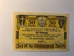 Allemagne Notgeld Harburg 50 Pfennig - [ 3] 1918-1933 : République De Weimar