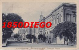 CALTANISSETTA - VIALE REGINA MARGHERITA  F/PICCOLO VIAGGIATA  ANIMAZIONE - Caltanissetta
