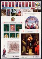 Smom 1991 -- Annata Completa --- Complete Years ** MNH / VF - Sovrano Militare Ordine Di Malta
