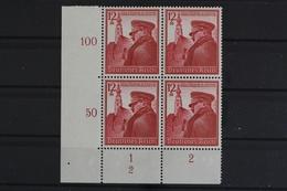 Deutsches Reich, MiNr. 691, 4er Block, Ecke Li. Unten, FN 2, Postfrisch / MNH - Germany