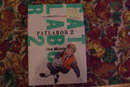 1/ Manga Patlabor 2 Livre D'Art Japon Nippon ISBN 4-09-101519-0 Edition Japonnaise Originale 1993 - Livres, BD, Revues
