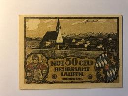 Allemagne Notgeld Laufen 50 Pfennig - [ 3] 1918-1933 : République De Weimar