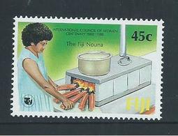 Fiji 1988 Women's Council 45c Single MNH - Fiji (1970-...)