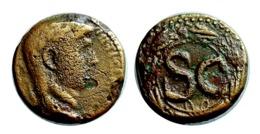 ROMAINE CLAUDE Bronze Colonial Antioche A VOIR!!! - 1. Les Julio-Claudiens (-27 à 69)