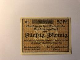 Allemagne Notgeld Lengsfeld 50 Pfennig - [ 3] 1918-1933 : République De Weimar