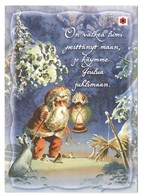 Postal Stationery Finland - CHARITY - CANCER FOUNDATION - GNOME - SNOWSHOE HARE - Postage Paid - Port Payé - Finland