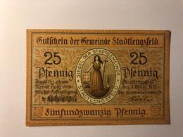 Allemagne Notgeld Lengsfeld 25 Pfennig - [ 3] 1918-1933 : République De Weimar