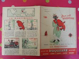 Protège-cahier Duquesne, Ananas, Sirop De Canne à Sucre, Rhum. La Martinique Fort-de-France - Protège-cahiers