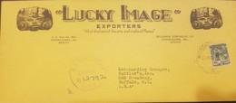 O) 1943 MEXICO, TEHUANA INDIAN-SCT 708 2c- OFICINA IMPRESORA HACIENDA DE MEXICO, LUCKI IMAGE EXPORTERS-GUADALAJARA TO BU - Mexico