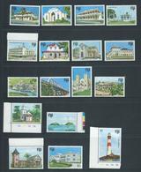 Fiji 1979 Buildings & Landmark Definitives Part Set Of 17 To $5 MNH , Missing 4c Lower Value - Fidji (1970-...)