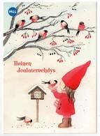 Postal Stationery Finland - CHARITY - MLL - MEISJE - VOGELS - GOUDVINKEN - GIRL - BIRDS - BULLFINCHES - Postage Paid - Finland