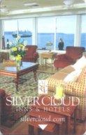 Silver-Cloud-Inn[1474]--key Card, Room Key, Schlusselkarte, Hotelkarte - - Cartes D'hotel