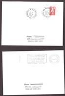 FRANCE '59 CONDE SUR L'ESCAUT P.P.' 1993/96  2 MARQUES POSTALES Et OBLITERATIONS - Marcophilie (Lettres)