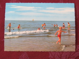 "Denmark 1968 Postcard ""beach""  To Germany - Princess Margrethe And Prince Henri - Dinamarca"