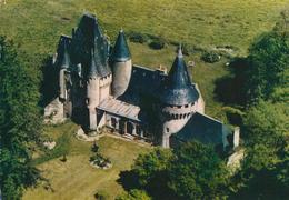 79) CHEF-BOUTONNE : Vue Aérienne Sur Le Château De Javarzay - Chef Boutonne