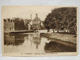 Saint-Omer. Quai Des Salines Et Les Mathurins - Saint Omer