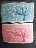 1962 - IRLANDE Y&T N° 155 & 156 ** - EUROPA - 1949-... République D'Irlande