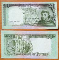 Portugal 20 Escudos 1964 AUNC - Portogallo