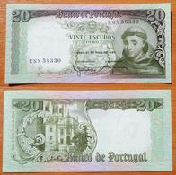 Portugal 20 Escudos 1964 UNC - Portugal