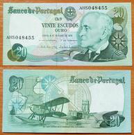 Portugal 20 Escudos 1978 AUNC (Sign.2) - Portugal
