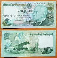 Portugal 20 Escudos 1978 AUNC (Sign.3) - Portugal